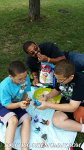 Our Fun Family Picnic At The Park! #GoodFunForAll @FritoLay @SkylandersGame #Ad