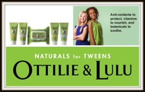 Natural Skin Care To Keep Tween Faces Beautiful! @ottilieandlulu #Giveaway #Partner