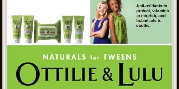 Natural Skin Care To Keep Tween Faces Beautiful! @ottilieandlulu #Giveaway #Partner
