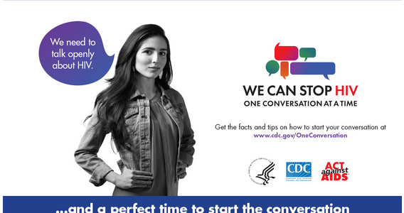 Start The Conversation About HIV/AIDS With Friends And Family! #OneConversation @TalkHIV #Ad