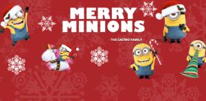 Make Minions Digital Greeting Card! $25 @Fandango GC #Giveaway! (4 Winners) #FandangoFamily #Ad