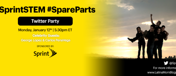 Join Me For Latinos in STEM & Spare Parts Twitter Party! #SprintSTEM @SprintLatino #Sponsored