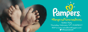"Join Us for the Pampers ""Love at First Sight"" Twitter Party #PampersPrimerasVeces #Sponsored"
