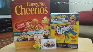 General Mills Brings The Minions To Your Cereal Box! #Minions @GeneralMills #Giveaway #Ad