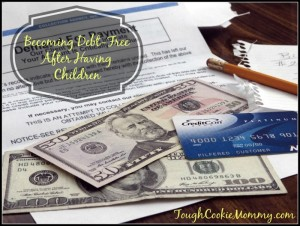 Becoming Debt-Free After Having Children