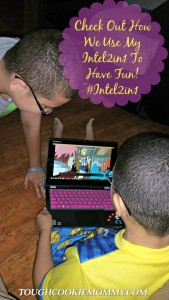 Check Out How We Use My Intel 2In1 To Just Have Fun! #Intel2in1 @Intel @Lenovo #Ad