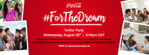 Join Us For The Coca-Cola #ForTheDream Education Bilingual Twitter Party! @CocaCola #Ad
