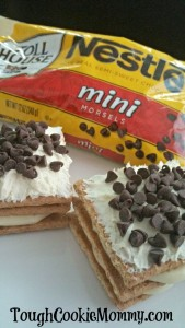 No-Bake Chocolate Eclair Sandwiches #NestleTollHouse @NestleTollHouse #Giveaway #Ad