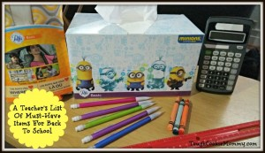 A Teacher's List Of Must-Have Items For Back To School #BackToSchool @Puffs #Ad