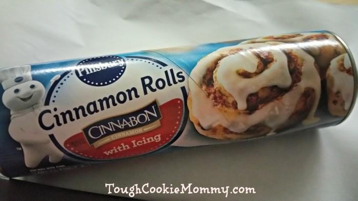 Pillsbury Cinnamon Roll King Cake
