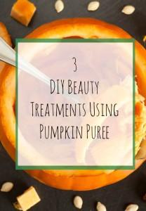 DIY Beauty Treatments Using Pumpkin Puree