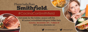 Join Us For The #CocinaConSmithfield Bilingual Twitter Party with Ingrid Hoffmann #Ad