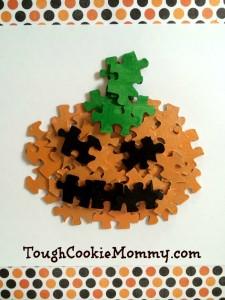 Pumpkin Puzzle Craft