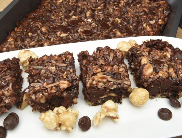 Brownie Cake Pudding Dessert Recipes