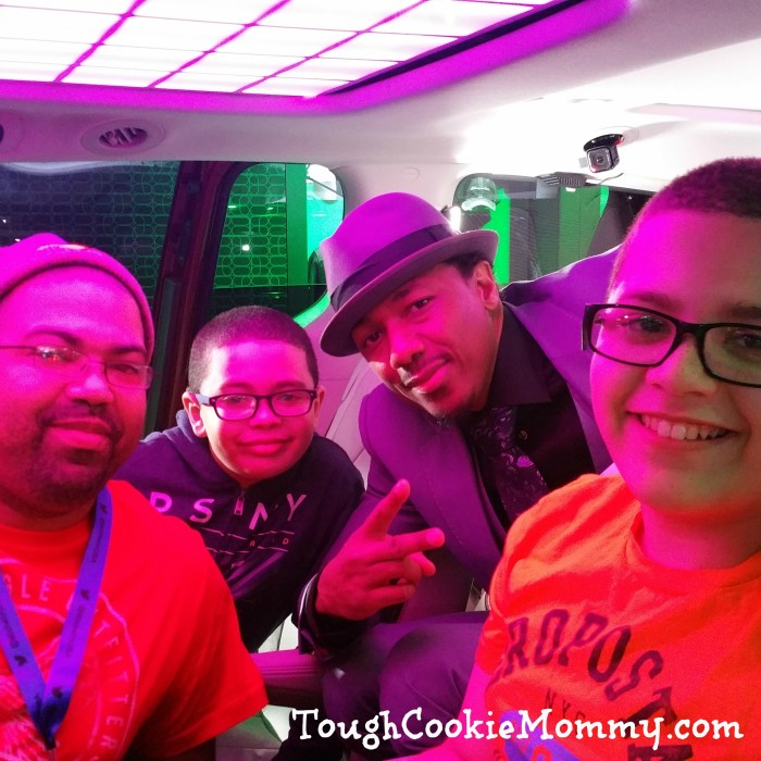 Checking out the 2017 Chrysler Pacifica with Nick Cannon!