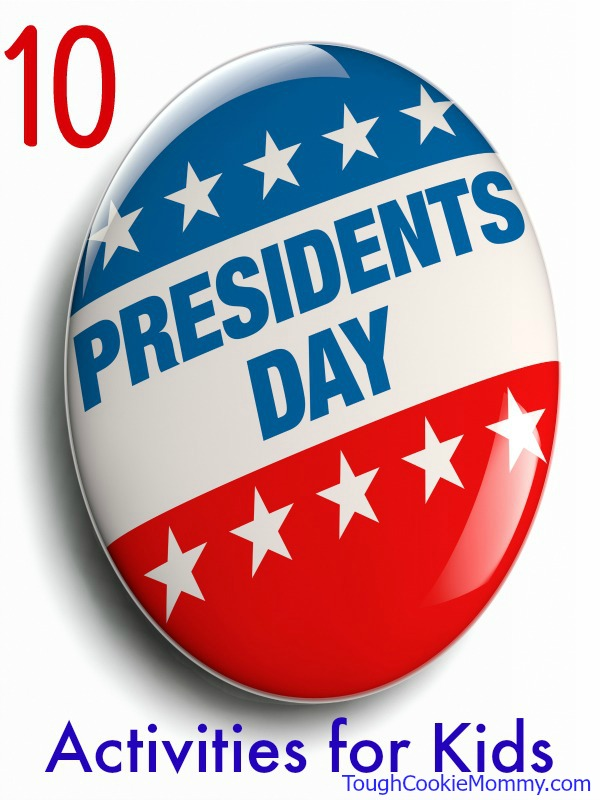 Presidents' Day USA graphic icon isolated on white.