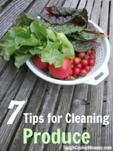 7 Tips For Cleaning Produce