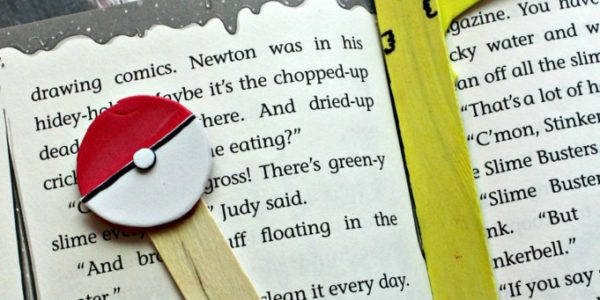 DIY Pokemon Bookmark And Pointer