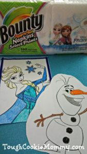 Disney Frozen Party Ideas #QuickerPickerUpper #DisneyFrozen @Bounty #Ad
