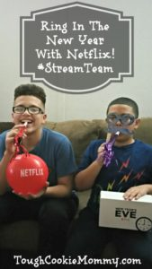 Ring In The New Year With Netflix! #StreamTeam @Netflix #Ad