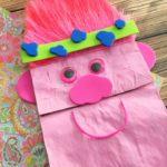 Trolls Puppet Craft