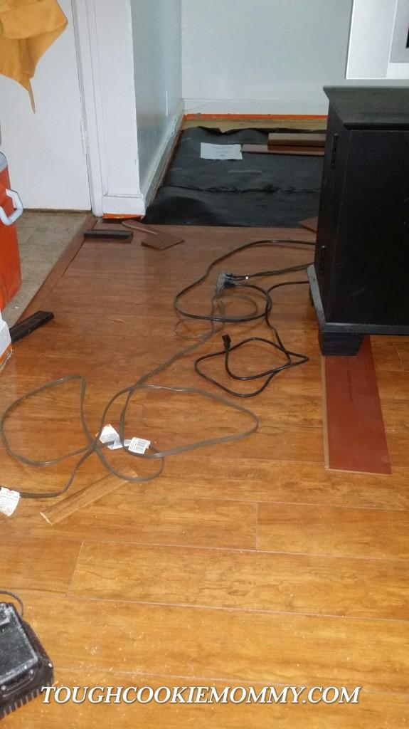 Installing Laminate Flooring In Living Room