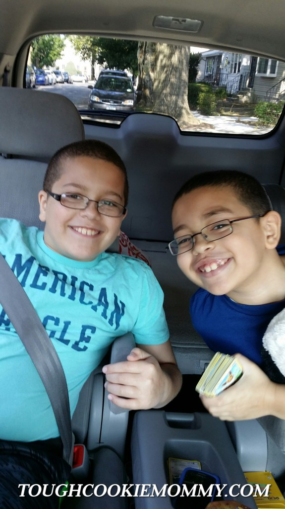 My boys had happy faces this Summer!