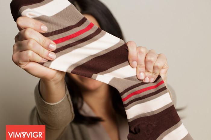 Nylon - Brown Blush Stretch
