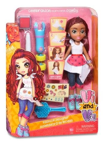 533238EM 534662EM Vi and Va Fashion Designer Doll Viviana FW PKG L