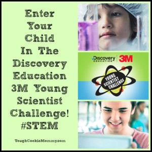 Enter Your Child In The Discovery Education 3M Young Scientist Challenge! @DE3MYSC #STEM #Ad
