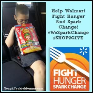 Help Walmart Fight Hunger And Spark Change! #WeSparkChange #SHOP2GIVE @Walmart #Sponsored
