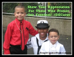 Show Your Appreciation For Those Who Protect Our Freedom! #DECares @DirectEnergy #Ad