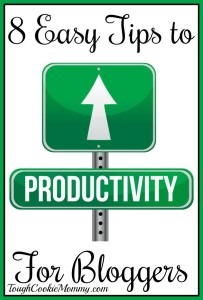 8 Easy Tips to Increase Productivity for Bloggers