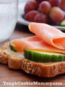 Smoked Salmon Cucumber Breakfast Toast Recipe