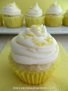 Lemon Buttercream Cupcake Recipe