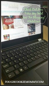 Check Out How I Use My Intel 2In1 For Blogging! #Intel2in1 @Intel @Lenovo #Ad