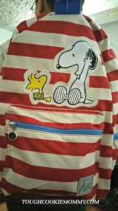 I'm In Love With My Peanuts Backpack! @happyhannas #ilovemyhannas #BTS @Snoopy #Ad