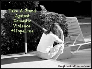 Take A Stand Against Domestic Violence! #HopeLine @Verizon @SheSpeaksUp #Giveaway #Ad