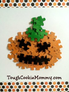 Pumpkin Puzzle Craft