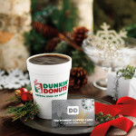 The Perfect Last Minute Stocking Stuffer At Dunkin' Donuts! @DunkinDonuts #Giveaway #Ad