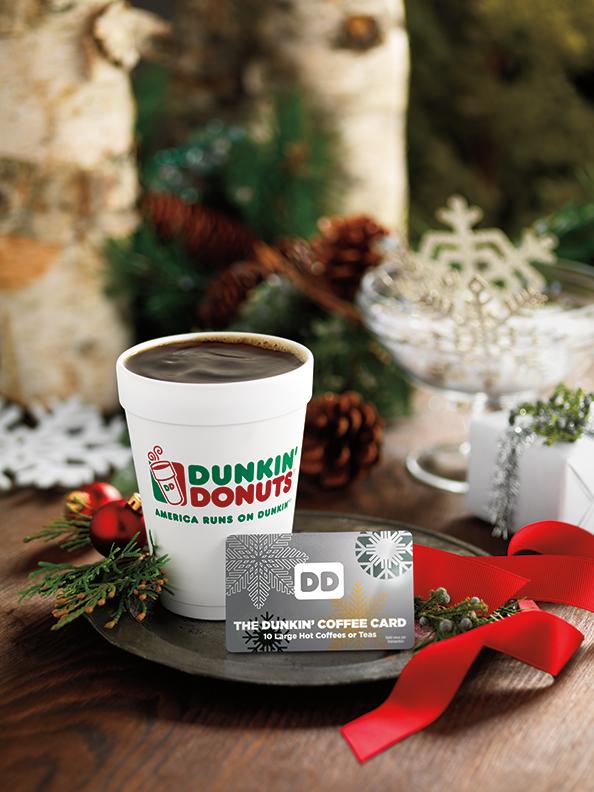Dunkin' Coffee Card
