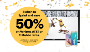 50% Off Sprint Plans – Plus Giveaway for TWO Smartphones! #SprintMom #Giveaway #IC #ad