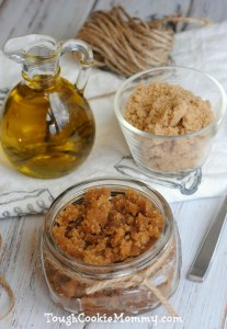 Olive Oil, Brown Sugar and Honey Scrub