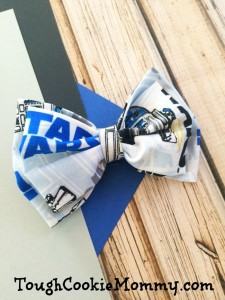 DIY Star Wars Hair Bow