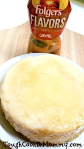 Coffee Flavored Caramel Flan Recipe @Folgers #Folgers #Ad