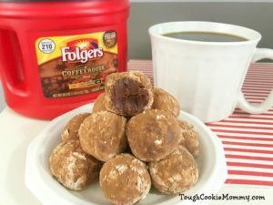 Dark Chocolate Coffee Truffles @Folgers #Folgers #Ad