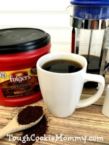 Make French Press Coffee Right At Home! @Folgers #Folgers #Ad