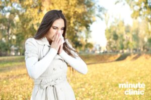 Dealing With Allergies In The Fall @MinuteClinic #Ad