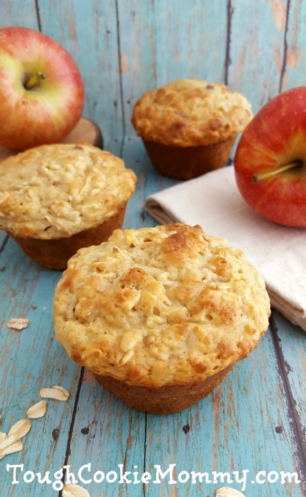 Apple Oats Muffins