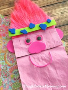 Trolls Puppet Craft